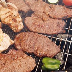 牛ステーキの韓国風