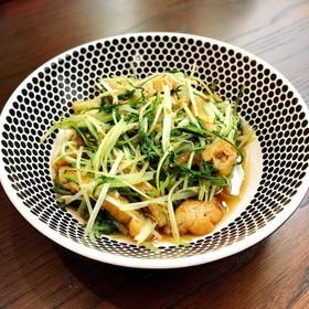 ❀シンプルに!水菜と油揚げの炒め煮❀