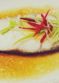 台湾料理「清蒸鱈魚」をレンジで時短に再現