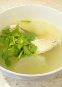 鯛魚瓜清湯(鯛と瓜のスープ)
