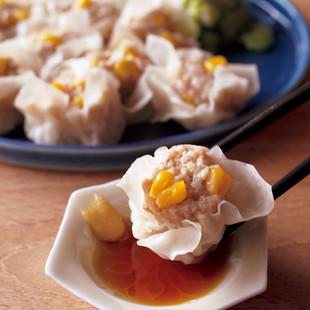ふんわり豆腐シュウマイ