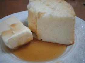 卵白消費5~6個☆白身だけシフォンケーキ