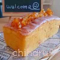 ふんわり♡ハニーオレンジケーキ♡