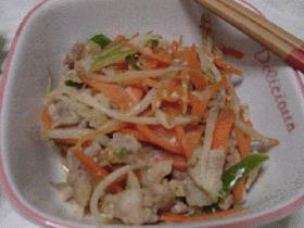 豚肉と野菜の味噌炒め☆ミ