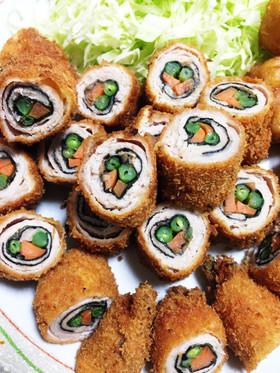 野菜肉巻き ~練り梅ver~