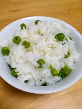 冷凍グリンピースで♫いつでも豆ご飯♫