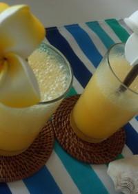冷凍マンゴーで作るマンゴージュース