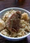 豚角煮の炊き込みご飯