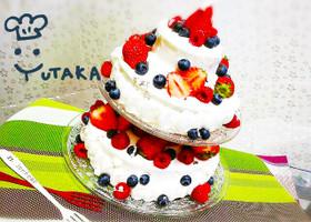 簡単☆本格☆イチゴのスペシャルケーキ