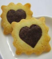 バレンタインプレゼントに♪型抜きクッキー