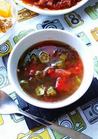 さっぱり~な、もずく酢スープ☆