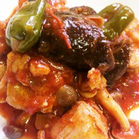 簡単*鶏肉のトマト煮込み*ラタトゥイユ風