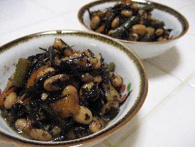 スピード1品。ひじきと大豆の炒り煮