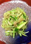 ツナとキャベツの春雨サラダ