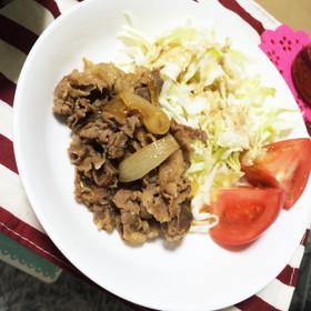 簡単!牛肉のしぐれ煮✨