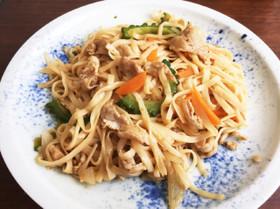 糖質制限レシピ☆焼きそば風麺