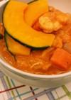 濃厚‼トマトとエビの食べるスープ