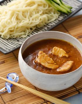 シーチキンカレーつけ麺