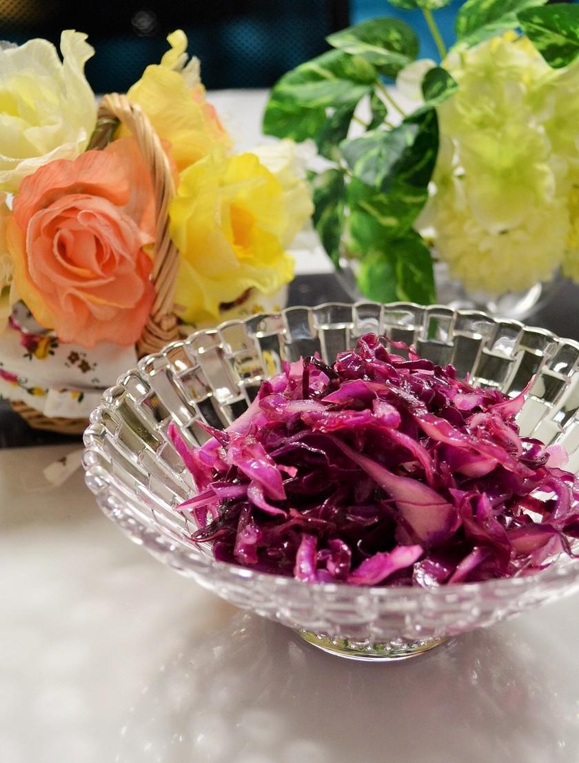 Oh!Purple♪紫キャベツマリネ
