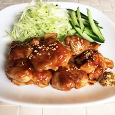 鶏肉の柔らかはちみつ味噌焼き。お弁当にも