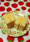 レンジで簡単!サンドイッチの卵