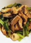小松菜ちくわとぶり低予算低カロリー美味