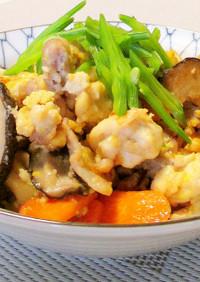 我が家の☆豚肉入り炒り豆腐☆