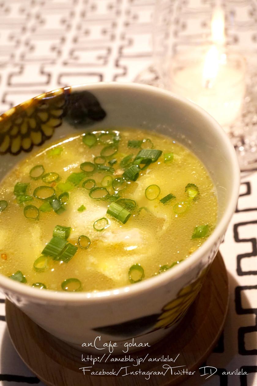 激ウマ♡柚子胡椒deふわふわ中華卵スープ