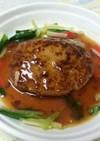 豆腐ハンバ—グ~中華風