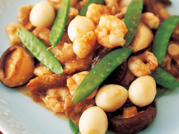 豚肉と野菜の八宝菜風