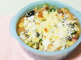 長芋と豆腐の味噌和風グラタン!