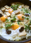 高野豆腐の卵とじ