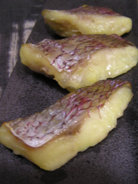 おせち 鯛の西京味噌漬け 焼き