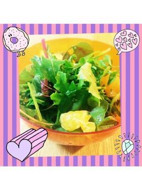 ♡簡単♡クレソンの美肌サラダ