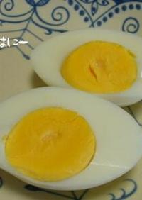eco ゆで卵☆圧力鍋で半熟~固ゆで