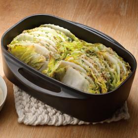 白菜の重ね蒸し 餃子風
