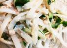 大根と胡瓜のシーチキンマヨサラダ