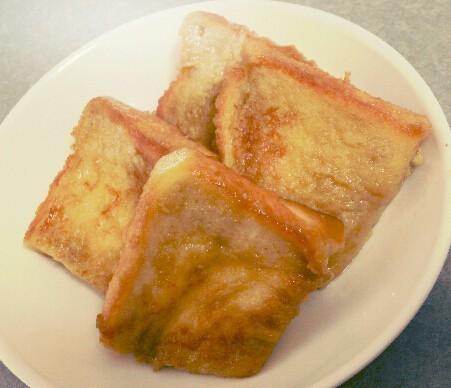 ふわふわ豆乳バナナフレンチトースト
