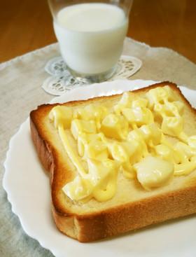 プロセスチーズとマヨ☆ふわとろトースト