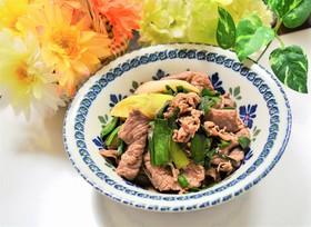 簡単♪牛肉&ニラネギ炒め