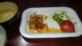 トンテキからの~生姜焼き