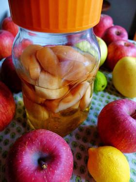 りんごとレモンの果実酒。【少量】