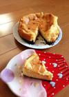 チーズケーキは材料3個で!
