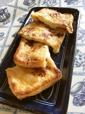 簡単おつまみ油揚げのとろとろチーズはさみ