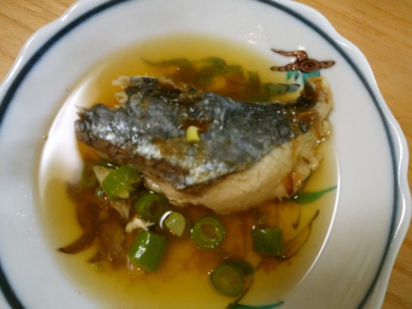 離乳食完了期☆魚の煮つけ(鰆)