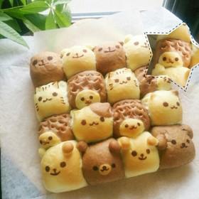 動物ちぎりパン