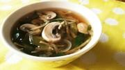 ダイエットに☆生姜とチアシードのスープの写真