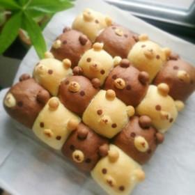 くまちぎりパン((コツ有り))