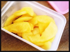 りんご蜂蜜煮◇お弁当デザートや喉の風邪に