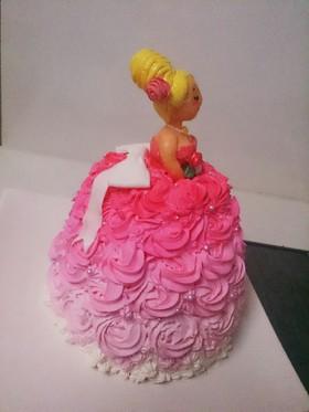 ドールケーキの大まかな作り方